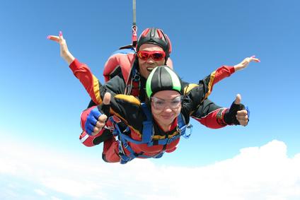 Teamwork Skydiving
