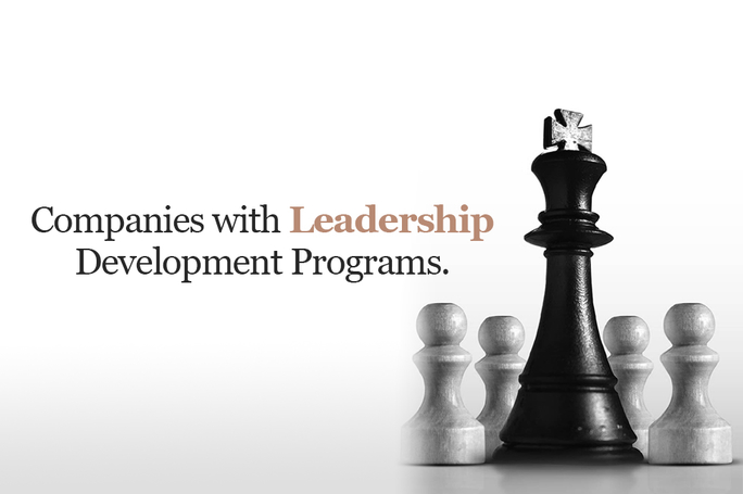 Companies with leadership development program