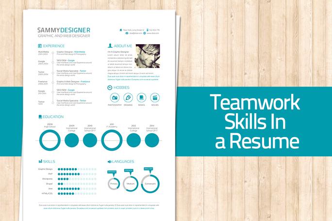 teamwork skills- n a resume