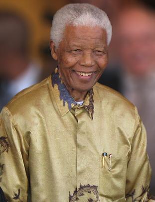 Nelson Mandela & Team Work